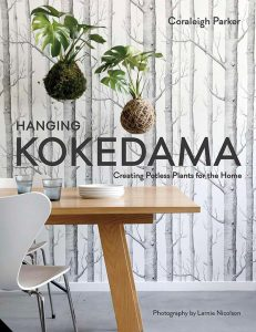Hanging Kokedama by Coreleigh Parker