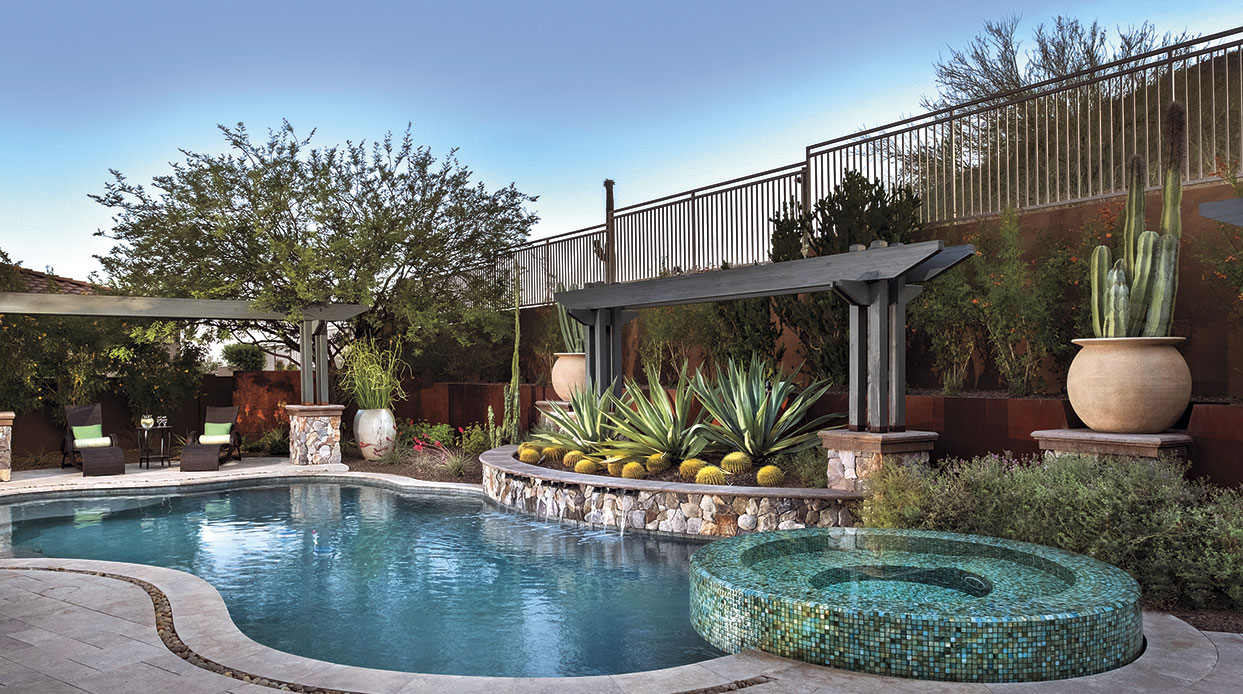 Two Local Pros Dive Into Pool Design - Phoenix Home & Garden on pools for home, pools for the garage, pools for the summer,