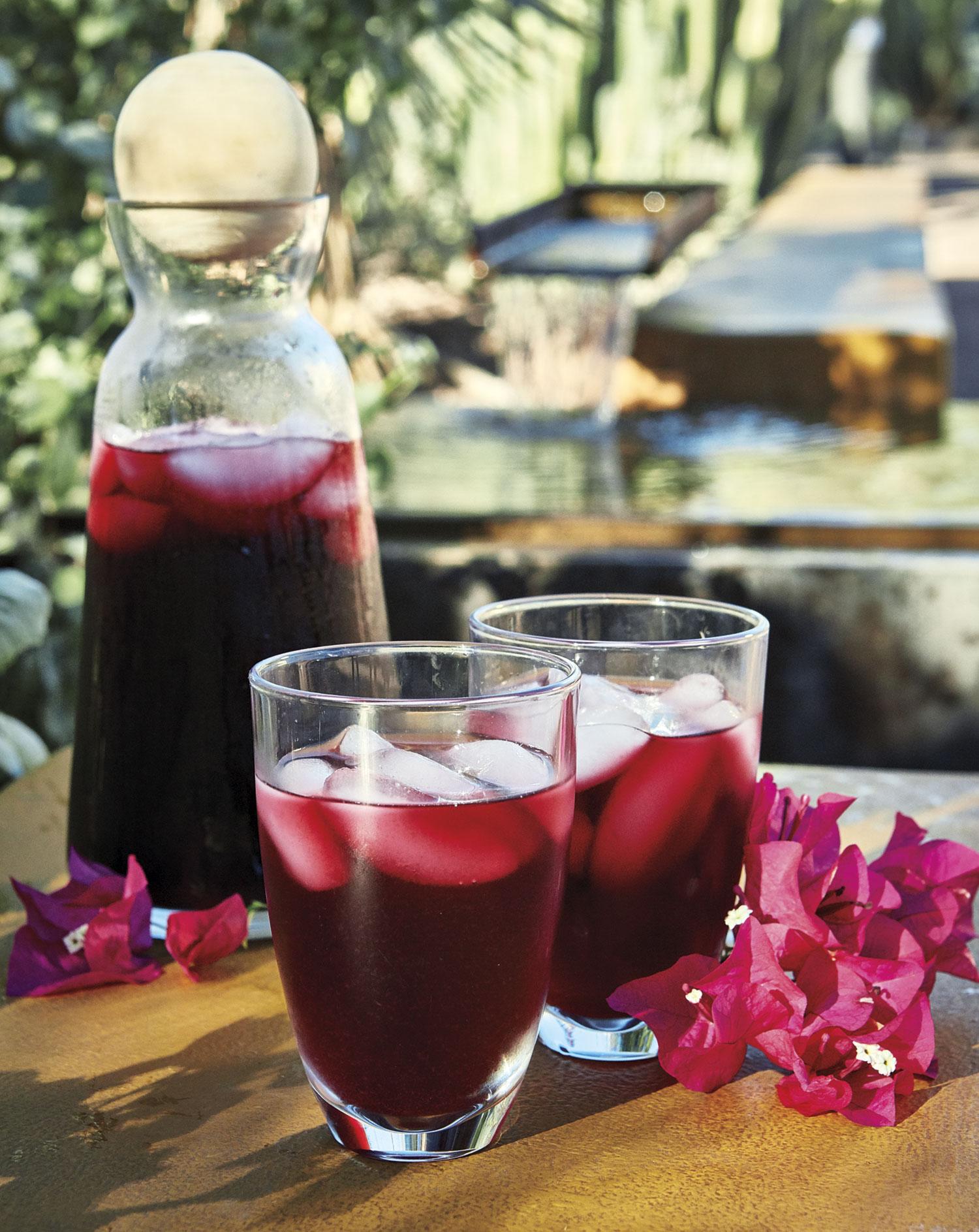 Bougainvillea Flower Water With Hibiscus Phoenix Home Garden