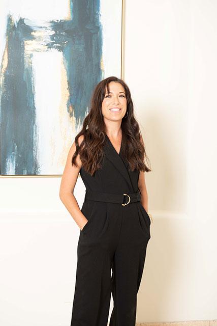 Interior designer Tabitha Evans