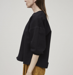 Fond Sweatshirt in Charcoal, $235, by Rachel Comey, at Now or Never, Phoenix
