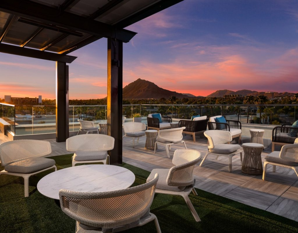 Outrider rooftop bar in Scottsdale