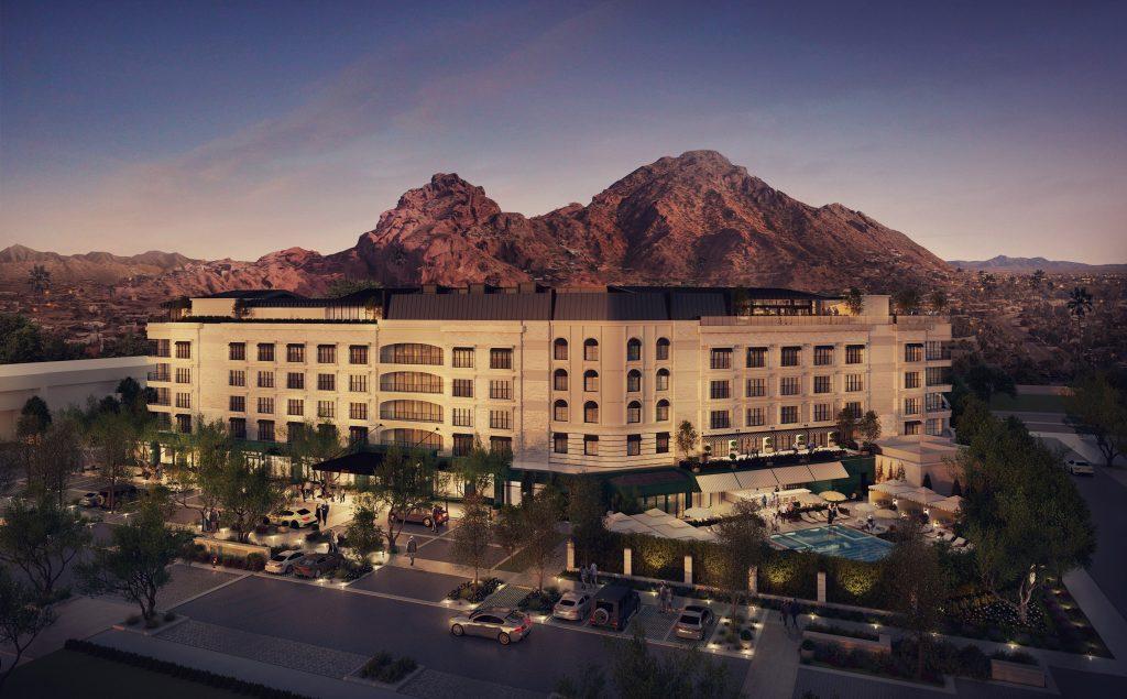 The Global Ambassador hotel rendering
