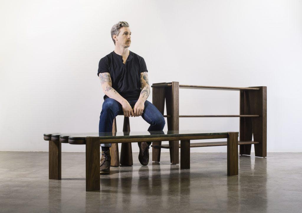 Furniture designer Levi Christiansen